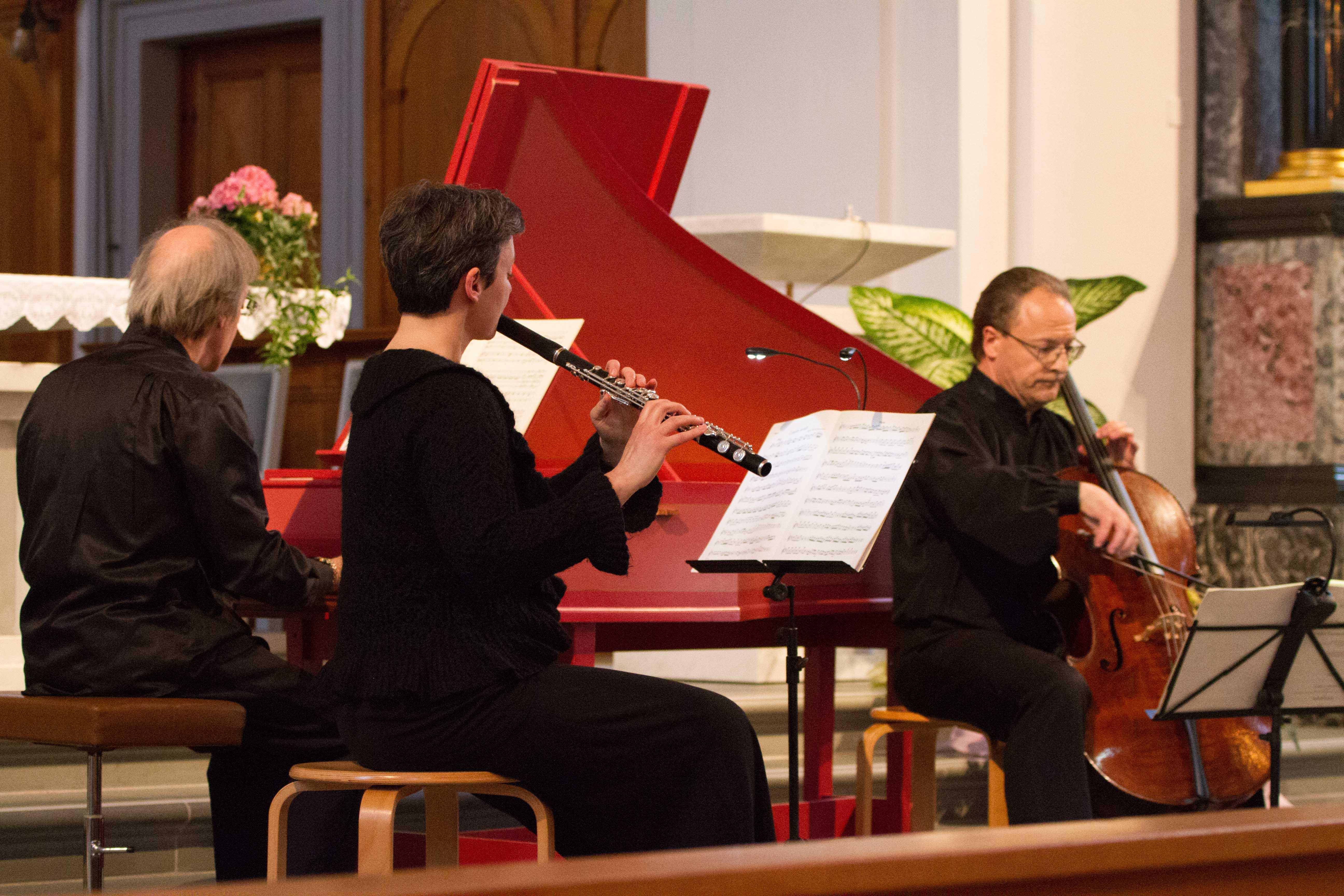 Quartett des Bach Ensembles Luzern, 1. Mai 2016